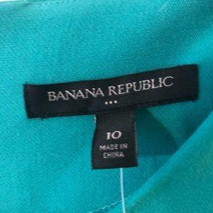 Banana Republic Dresses - Teal banana republic dress